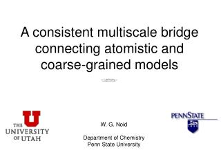 A consistent multiscale bridge connecting atomistic and  coarse-grained models