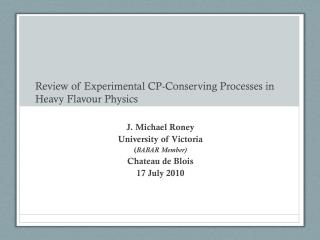 Review of Experimental CP-Conserving Processes in Heavy Flavour Physics
