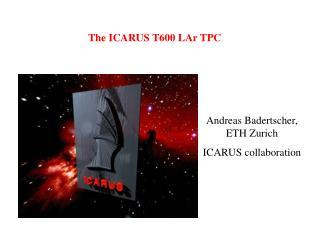 The ICARUS T600 LAr TPC