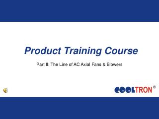 Product Training Course