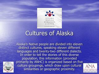 Cultures of Alaska