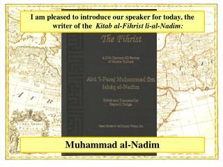 Muhammad al-Nadim