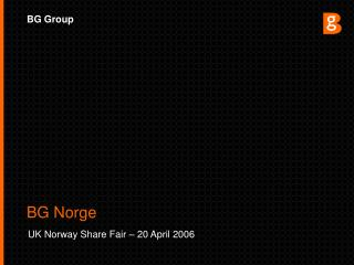 UK Norway Share Fair – 20 April 2006