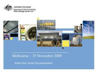 Melbourne – 25 November 2009
