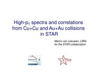 High-p T  spectra and correlations  from Cu+Cu and Au+Au collisions  in STAR