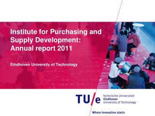 Institute for Purchasing and Supply Development: Annual report 2011