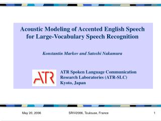Acoustic Modeling of Accented English Speech  for Large-Vocabulary Speech Recognition