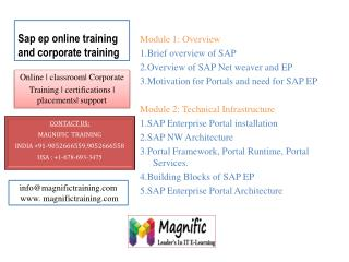sap ep online training in india,pune,mumbai,chennai,kerala