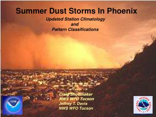 Summer Dust Storms In Phoenix