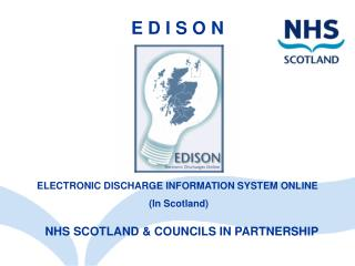 NHS SCOTLAND & COUNCILS IN PARTNERSHIP