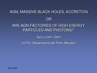 Suzy Collin-Zahn LUTH, Observatoire de Paris Meudon