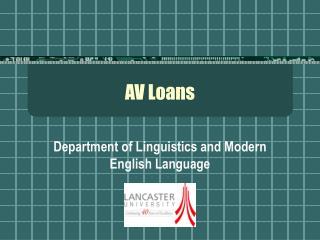 AV Loans