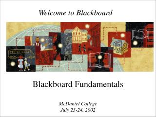 Welcome to Blackboard