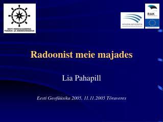 Radoonist meie majades