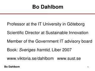 Bo Dahlbom