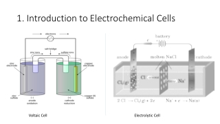 Introduction to Electrochemical Cells