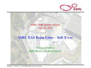 SSRL XAS Beam Lines – Soft X-ray