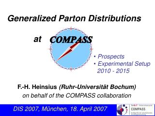 Generalized Parton Distributions            at