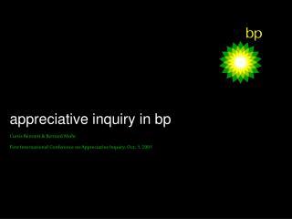 appreciative inquiry in bp