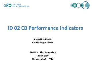 ID 02 CB Performance Indicators