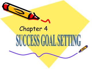 SUCCESS GOAL SETTING