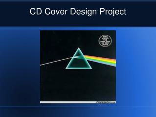CD Cover Design Project