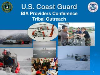 U.S. Coast Guard BIA Providers Conference Tribal Outreach