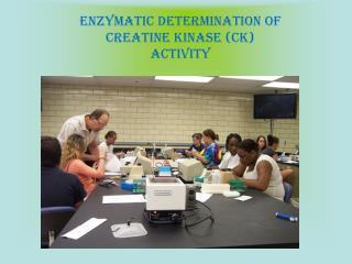 Enzymatic Determination of Creatine Kinase (CK) Activity