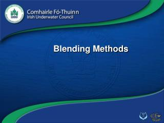 Blending Methods