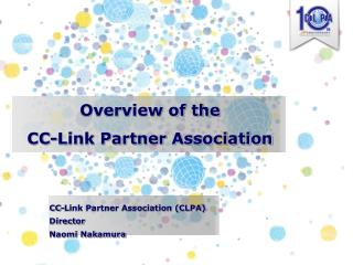 Overview of the CC-Link Partner Association