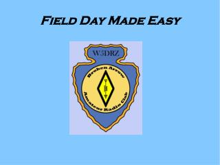 Field Day Made Easy