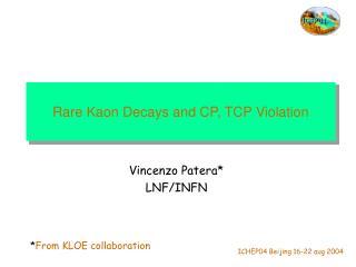 Rare Kaon Decays and CP, TCP Violation