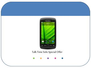 Talk Time Solo Special Offer