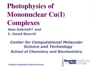 Photophysics of Mononuclear Cu(I) Complexes