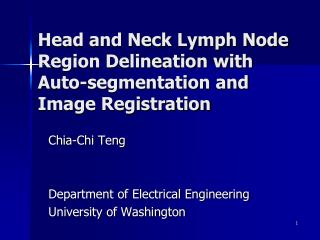 Head and Neck Lymph Node Region Delineation with Auto-segmentation and Image Registration