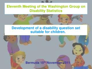 Eleventh Meeting of the Washington Group on Disability Statistics