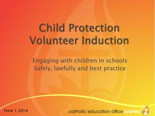 Child Protection Volunteer Induction