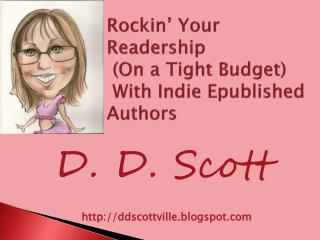 Rockin ' Your Readership  (On a Tight Budget)  With Indie  Epublished  Authors