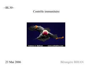 Contrôle immunitaire