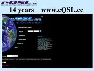 14 years    eQSL