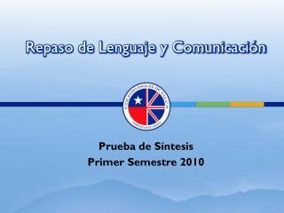 Repaso de Lenguaje y Comunicaci n