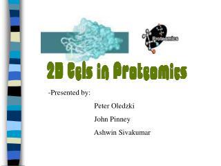 -Presented by:                          Peter Oledzki                          John Pinney                          Ashw