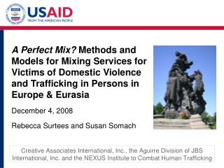 Methods and Models for Mixing Services for Victims of DV and TIP Research Framework