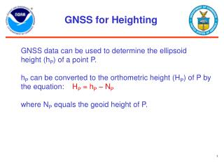 GNSS for Heighting