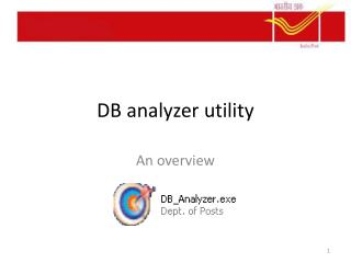 DB analyzer utility