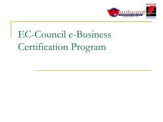 EC-Council e-Business Certification Program