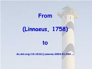 From  (Linnaeus, 1758) to dx.doi/10.1016/j.seares.2004.01.00 4 ...