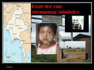 Myanmar  Mission  緬甸事工