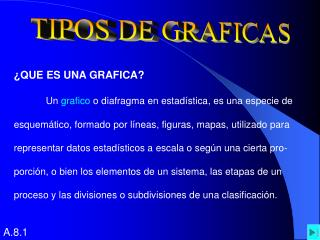 TIPOS DE GRAFICAS