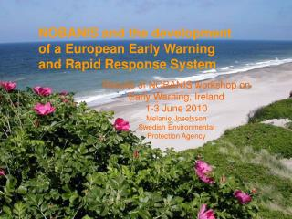 NOBANIS and the development  of a European Early Warning  and Rapid Response System